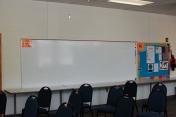 Plenty of whiteboard space!